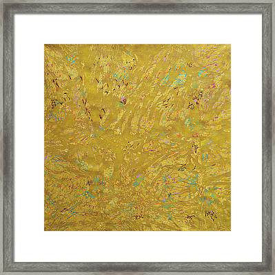 Gems And Sand Framed Print