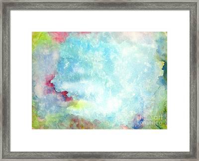 Gemstone Framed Print