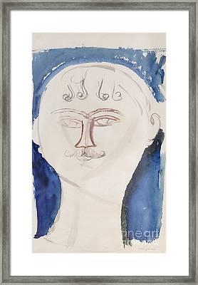 Gendarme By Amedeo Modigliani Framed Print