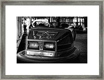 Framed Print featuring the photograph Gene Vincent by Adrian Pym