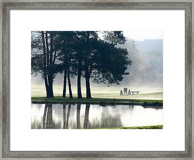 Genegantslet Golf Club Framed Print by Christina Rollo