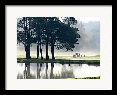 Foggy Day Framed Prints