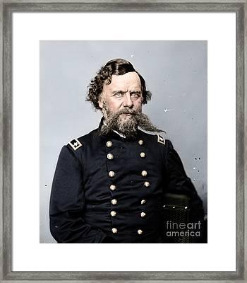 General Alpheus S Williams Framed Print
