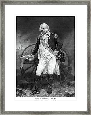 General Benjamin Lincoln Framed Print