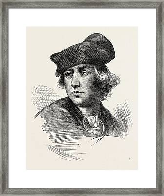 General C. Lee Was A British Soldier Who Served Framed Print by English School