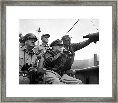 General Douglas Macarthur Framed Print by Mountain Dreams