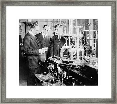 General Electric Research Framed Print by Library Of Congress