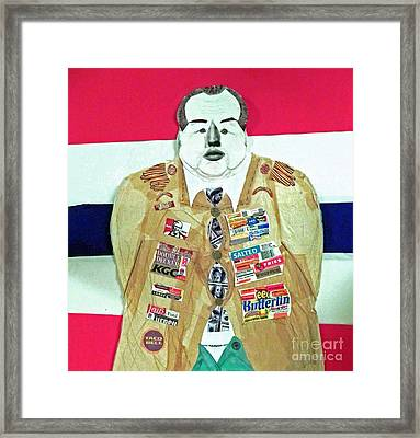 General Foods-a Self-made Man Framed Print