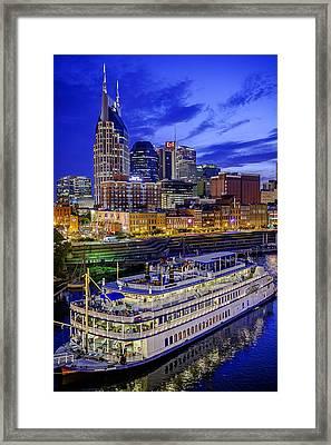 General Jackson In Nashville Framed Print by Brett Engle