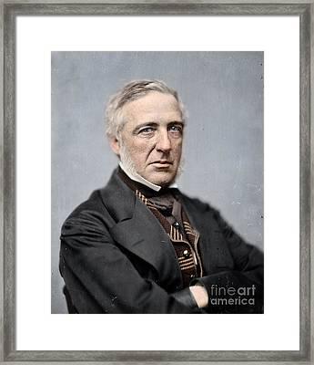 General James S Wadsworth Framed Print