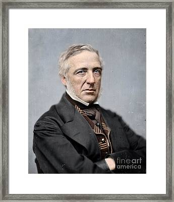 General James S Wadsworth Framed Print by Celestial Images