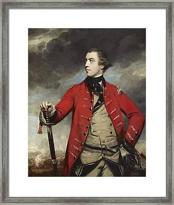 General John Burgoyne Framed Print