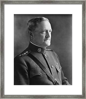 General John J Pershing 1920 Framed Print by Mountain Dreams