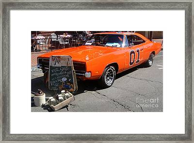 General Lee Framed Print by Gregory Dyer