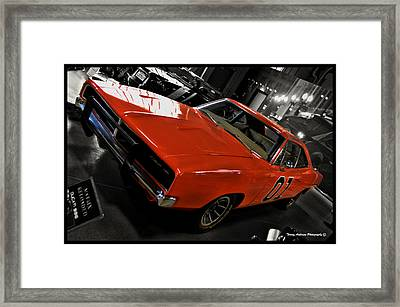 General Lee Framed Print by Tommy Anderson