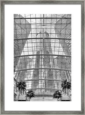 General Motors Headquarters Framed Print by Genaro Rojas
