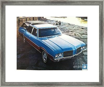 General Motors Posters Framed Print
