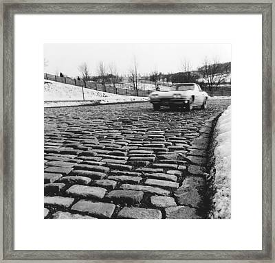 General Motors Proving Ground Framed Print by Underwood Archives
