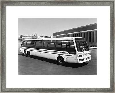 General Motors' Rtx Bus Framed Print by Underwood Archives