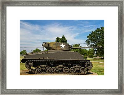 General Patton Museum Framed Print by Photostock-israel