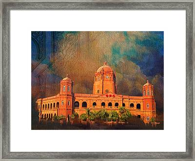 General Post Office Lahore Framed Print by Catf