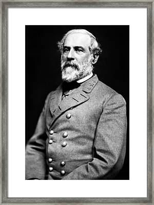 General Robert E Lee 1862 Framed Print by Mountain Dreams