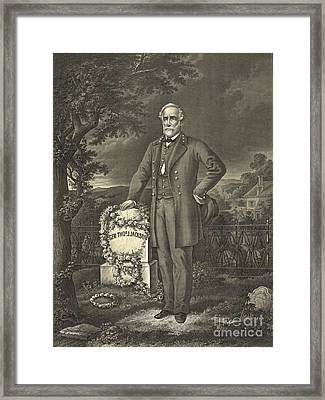 General Robert E. Lee 1869 Framed Print