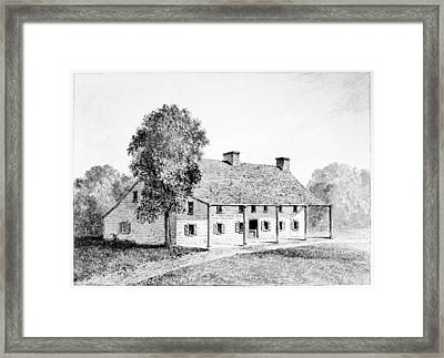 General Schuyler's House Framed Print