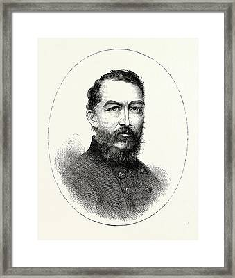 General Sheridan, He Was A Career United States Army Framed Print by American School