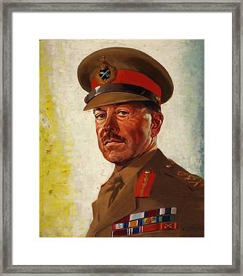 General Sir Howard Alexander Framed Print