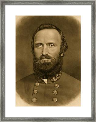 General Stonewall Jackson 1871 Framed Print by Anonymous