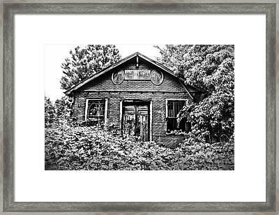 General Store Abandoned Framed Print by Kelly Hazel