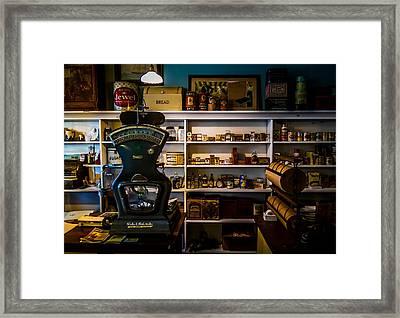 General Store Framed Print