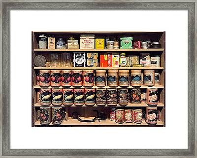 Framed Print featuring the photograph General Store Goods by Vicki DeVico