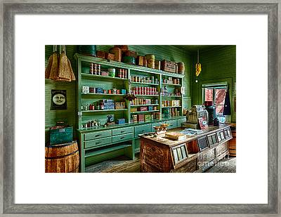 General Store Framed Print by Inge Johnsson