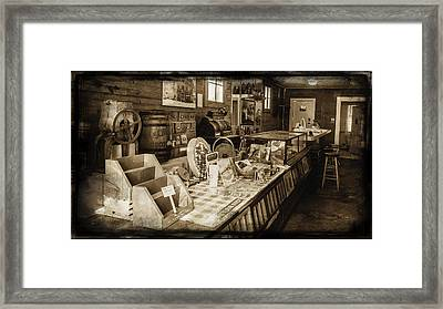 General Store Framed Print by Lisa and Norman  Hall