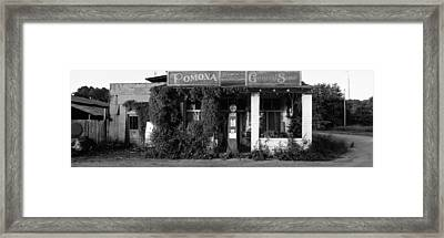 General Store, Pomona, Illinois, Usa Framed Print