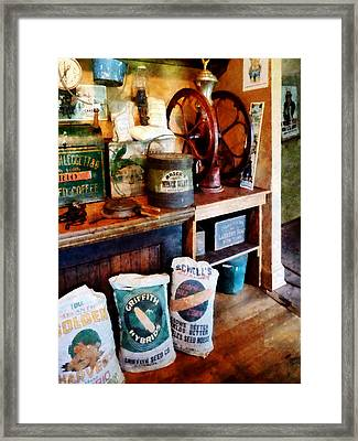 General Store Framed Print by Susan Savad