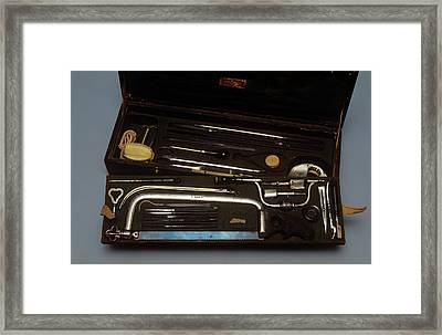 General Surgery Set Framed Print by Science Photo Library