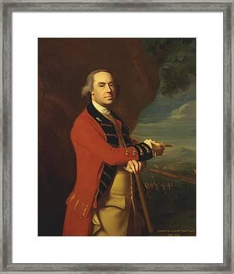 General Thomas Gage Framed Print