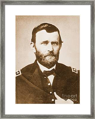General Ulysses Grant C1865 Framed Print by Padre Art