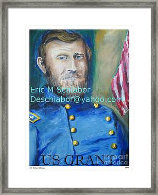 General Us Grant  Framed Print by Eric  Schiabor