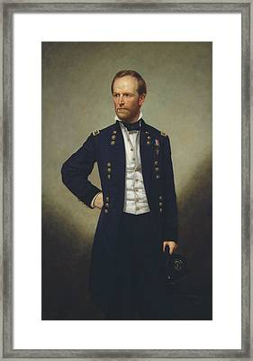 General William T Sherman Framed Print by Mountain Dreams