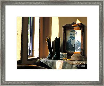 General Zapata - Sayulita Framed Print by Amy Fearn
