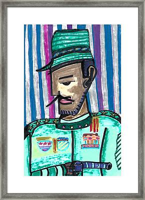 Generalissimo Diego  Framed Print by Don Koester