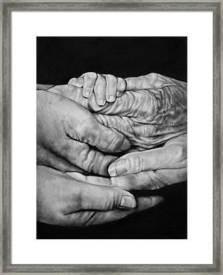 Generations Framed Print by Curtis James