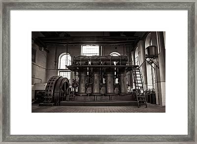 Generator Framed Print by Akos Kozari