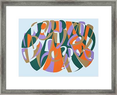 Generosity Of Spirit, 2004 Acrylic On Board Framed Print