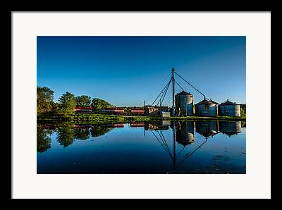 Feed Mill Photographs Framed Prints