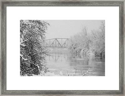 Genesee River Framed Print